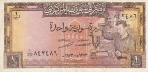 Syria, 1 Pound, 1973, XF, p93c