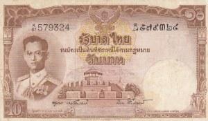 Thailand, 10 Baht, 1955, XF, p76d