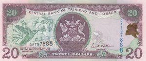 Trinidad and Tobago, 20 Dollars, 2002, UNC, p44b