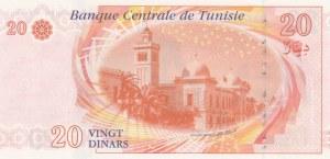 Tunisia, 20 Dinars, 2011, UNC, p93