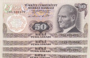 Turkey, 50 Lira, 1976 / 1983, UNC, p187Aa / p187Ab, 6/1. ve 6/2. Emission,