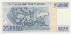 Turkey, 250.000 Lira, 1998, UNC, p211, 7/3. Emission, I89 LAST PREFIX