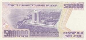 Turkey, 500.000 Lira, 1997, UNC, p212 7/1. Emission, J01 first prefix
