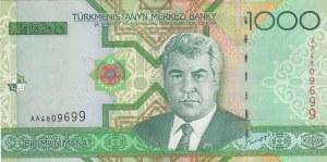 Turkmenistan, 1000 Manat, 2005, UNC, p20
