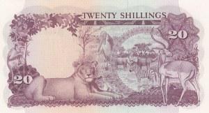 Uganda, 20 Shillings, 1966, UNC, p3a