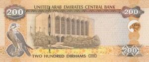 United Arab Emirates, 200 Dirhams, 2008, UNC, p31b