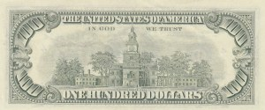 United States of America, 100 Dollars, 1981, AUNC (-), p472