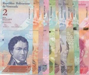 Venezuela, 10 Pieces UNC Banknotes