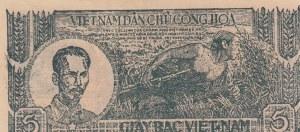 Vietnam, 5 Dong, 1948, UNC, p17a