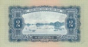 Vietnam, 2 Dong, 1958, UNC, p72a