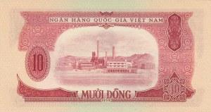 Vietnam, 10 Dong, 1958, UNC, p74a