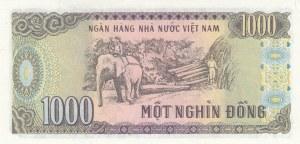 Vietnam, 1000 Dong, 1988, UNC, p102a