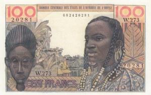 West African States, 100 Francs, 1961-1965, UNC, p101g