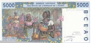 West African States, 5000 Francs, 2002, UNC, p113Al