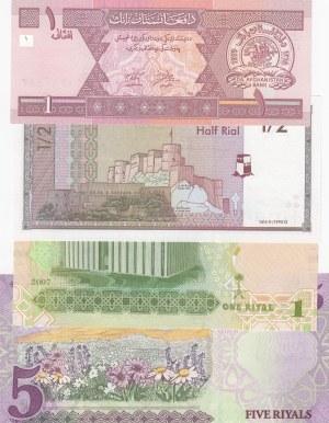 Mix Lot, 4 Pieces UNC Banknotes