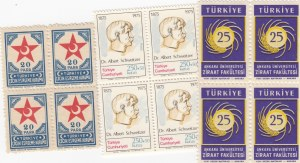 Mix Lot, Turkey in 3 block of 12, UNC