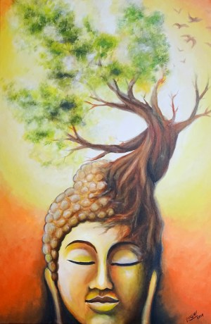 José Angel Hill, Buddha tree
