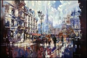 Piotr Zawadzki, Metropolis. Paris Dream III, 2019