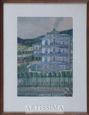 Nikifor Krynicki (1895–1968), Willa Melsztyn w Krynicy Górskiej