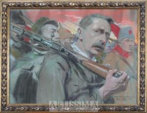 Feliks Michał Wygrzywalski (1875–1944), Autoportret, 1925