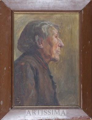 Leontyna Płonczyńska (1894–1951), Studium portretowe*, 1916