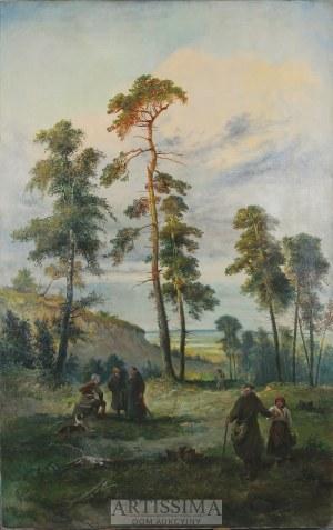 Franciszek Kostrzewski (1826–1911), Ostatnie sosny, 1896