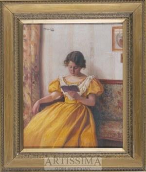 Alois Heinrich Priechenfried (1867–1953), Dziewczyna czytająca książkę*
