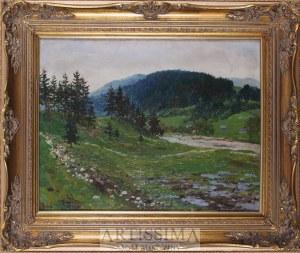Emil Lindeman (1865–1945), Pejzaż górski
