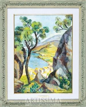 Stefania Ordyńska-Morawska (1882–1968), Port-Vendres*