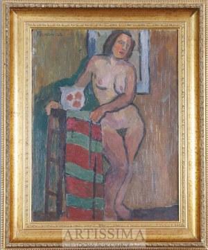 Jerzy Fedkowicz (1891–1959), Akt/Martwa natura z żółtym dzbankiem*