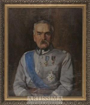 Kazimierz Pochwalski (1885–1940)?, Portret Józefa Piłsudskiego