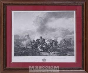 Philips Wouvermann (1619–1668), według, Marin Lavigne und Eichens, Bitwa kawalerii