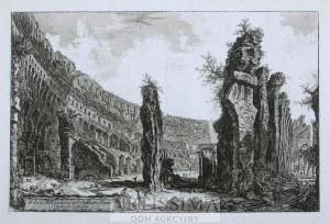 Giovanni Battista Piranesi (1720–1778), Veduta dell'interno dell'Anfiteatro Flavio detto il Colosseo, 1766