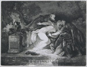 Jan Piotr Norblin de la Gourdaine (1745–1830), Zuzanna i starcy, 1776