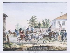 Aleksander Orłowski (1777–1832), Podmiejskie zawody, 1824