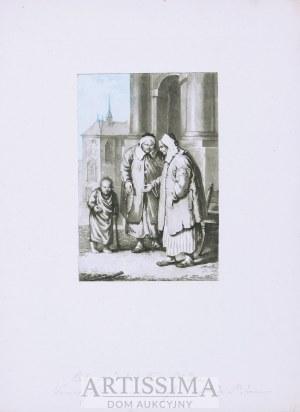 Philibert Louis Debucourt (1755–1832), Baby przed kościołem św. Jana – wg J. P. Norblina, 1817