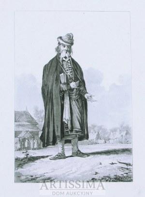 Philibert Louis Debucourt (1755–1832), Żyd powracający z bożnicy – wg J. P. Norblina, 1817