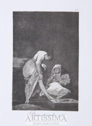 Francisco Goya (1746–1828), wyd. Jean de Bonnot, Paryż, Kaprysy (Los Caprichos), 1799/1970