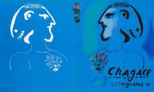 Marc Chagall, Lithographs IV (okładka albumu), 1974