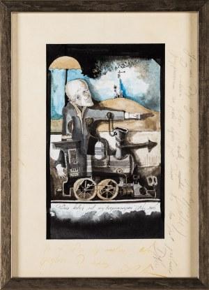 Daniel de Tramecourt,Podróż koleją jest najbezpieczniejsza, 1986