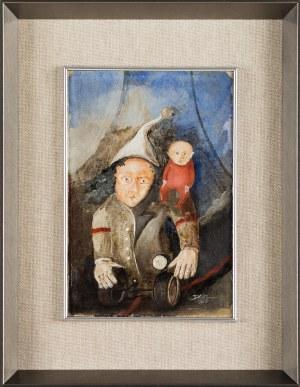 Daniel de Tramecourt, Człowiek z kołami, 1985