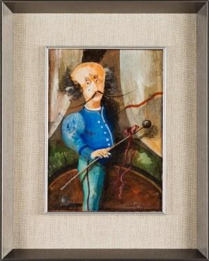 Daniel de Tramecourt , Smutny mężczyzna z batutą w ręku, 1985