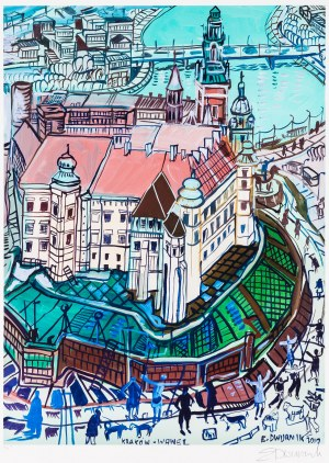 Edward Dwurnik, Kraków - Wawel, 2010
