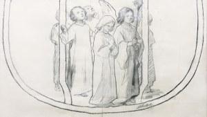 Józef Mehoffer (1869 Ropczyce k. Lwowa - 1946 Wadowice), Projekt ornatu II