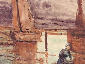 Władysław Wankie (1860 Warszawa - 1925 tamże), Nad wodą
