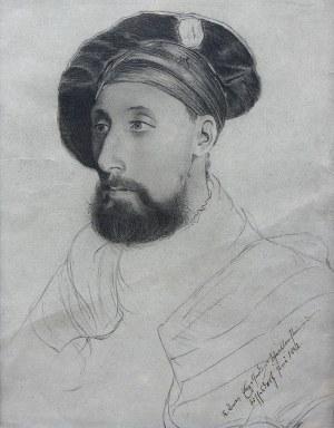 Artysta nieokreślony (XIX w.), Portret mężczyzny, 1882 r.
