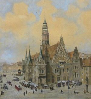 Alfred Heide (1885 Magdeburg – 1930), Ratusz wrocławski