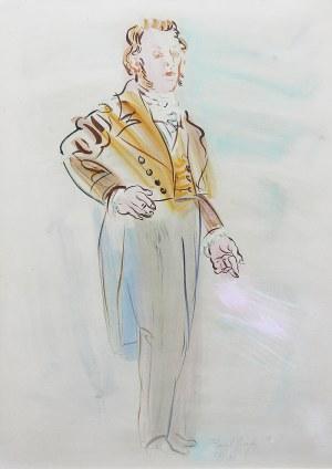 Raoul Dufy (1877 Hawr-1953 Forcalquier), Portret mężczyzny