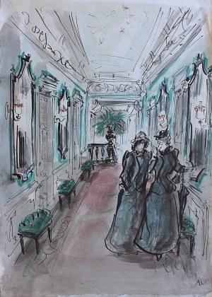Antoni Uniechowski (1903 Wilno-1976 Warszawa), W galerii