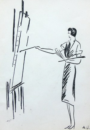 Antoni Uniechowski (1903 Wilno-1976 Warszawa), Malarka